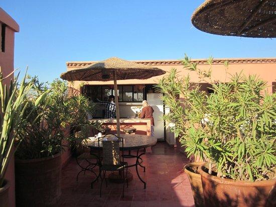 Riad Miski : Terrace