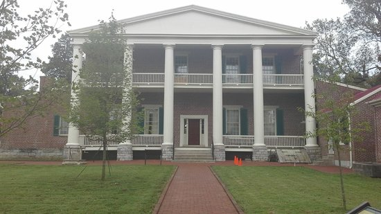 Andrew Jackson's Hermitage: Back of the mansion