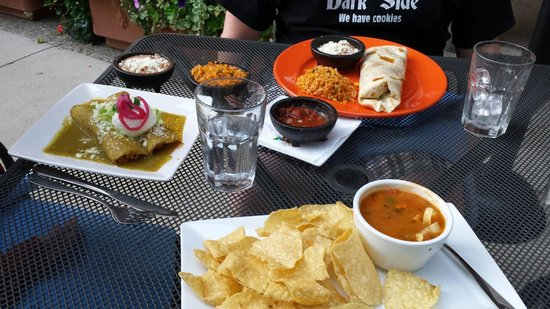 El Chanate Restaurant : Our fresh and tasty meal