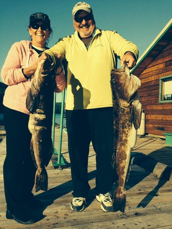 Coastal Springs Float Lodge: An afternoon of Ling Cod Jigging