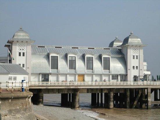 Penarth Pier Pavilion: Side View of the Pier