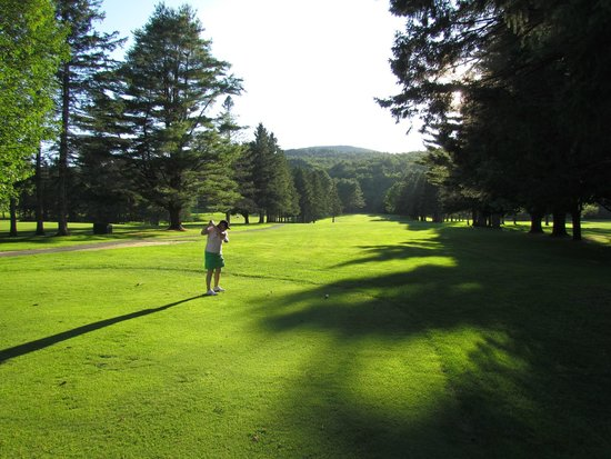 Golf Course at Lake Morey Resort is Very Well Maintained