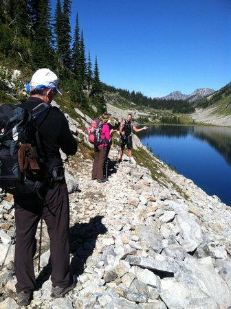 Mountain Trek Fitness Retreat & Health Spa: Beautiful hikes in British Columbia