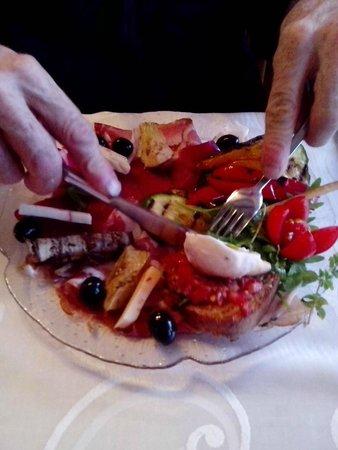 Chez Mantisi : antipasto italiano