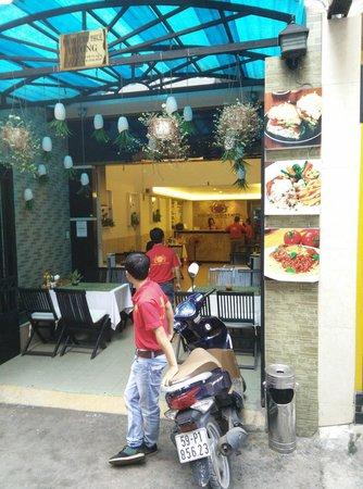 Beautiful Saigon Hotel 2: Hotel Entrance.