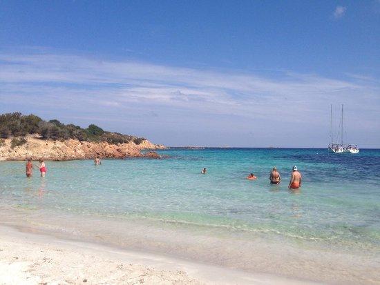 Spiaggia del Principe: Do not take a buggy
