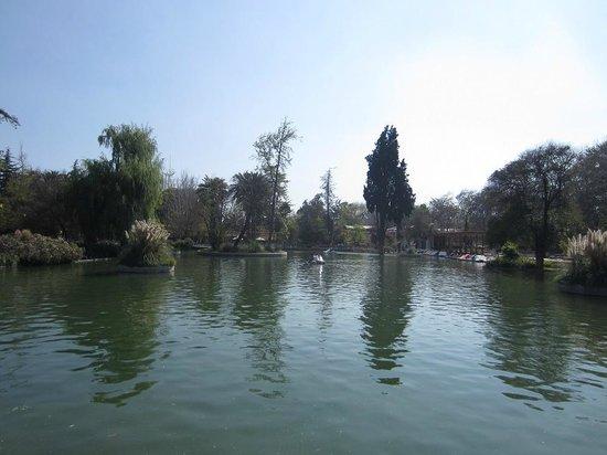 Parque Quinta Normal - Lagoon