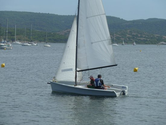 Laser 2000 at Wind Fornells Sailing