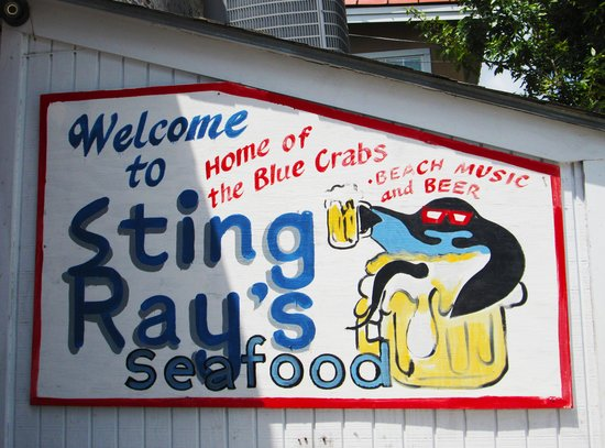StingRay's on Tybee: Stingray's sign