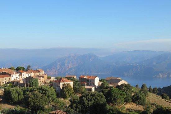 Hotel Mare e Monti : vue de notre chambre