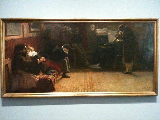 Le Musée Städel : Beethoven jouant du violon par Lionello Balestrieri