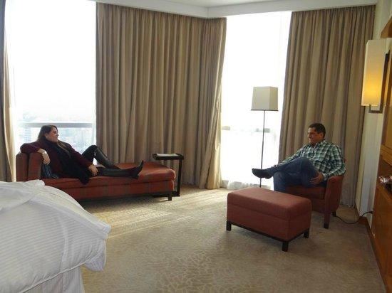 The Westin Lima Hotel & Convention Center: Zona de descanso y lectura