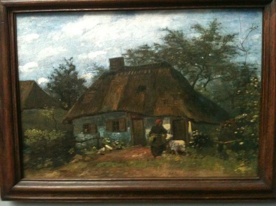 Le Musée Städel : Van gogh, maison en Hollande ou pays flamand