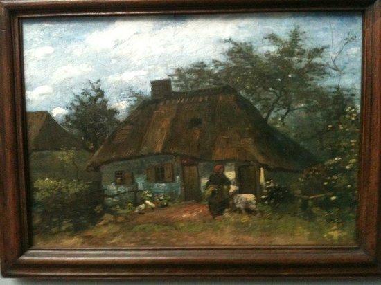 Museo Städel: Van gogh, maison en Hollande ou pays flamand