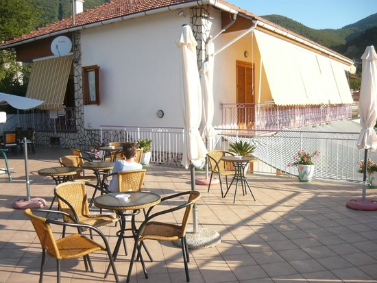 Bed and Breakfast Sant'Anna: terrazza