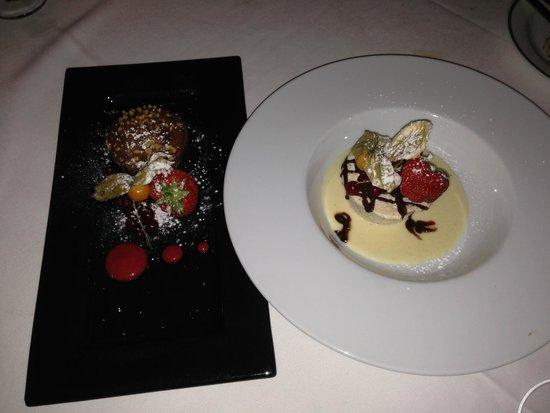 Al Borgo: Nutella Cheesecake and SemiFredo