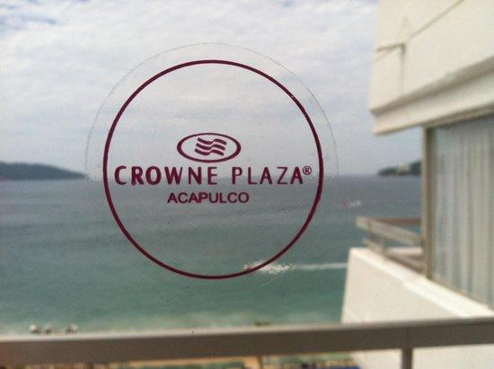 Gran Plaza Hotel Acapulco: Vista desde mi cama