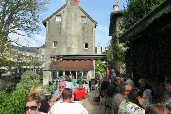 Le Moulin de La Galette : Great location