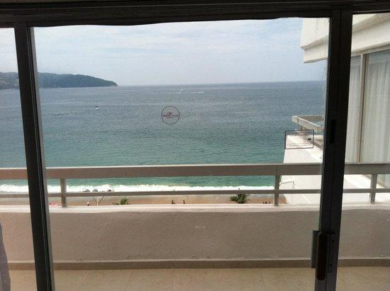 Gran Plaza Hotel Acapulco: Lindo no? vista desde mi cama