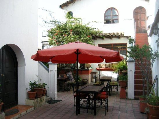 Casa de San Juan: The Patio Eating Area; Also inside seating