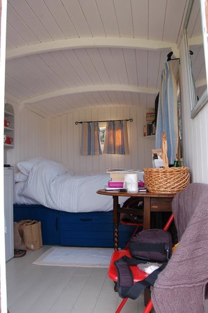 Hideaway Huts at Treworgey: The Lambing hut