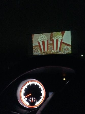 Sunset Drive-In Theatre: our first drive-in