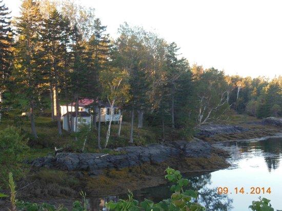 Harris Point Shore Cabins: Harris Point View