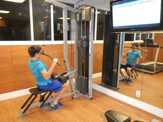 Augusto's Rio Copa Hotel: Gym