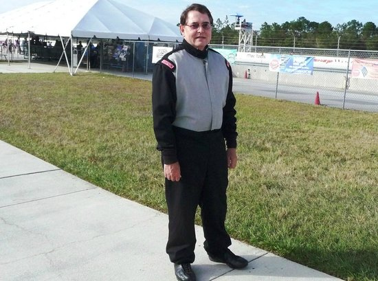 Richard Petty Driving Experience: All dressed up.