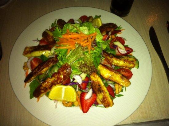 La Pentola: Huckleberry salat