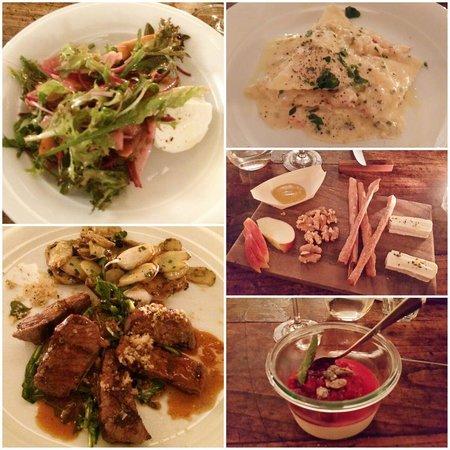 Restaurant Geissmatt: Excellent 5-course dinner!