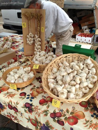 Boulder County Farmers Market: Garlic - Who knew there were so many variations?