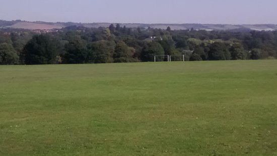 Mote Park: Would you believe such a view from the center of town