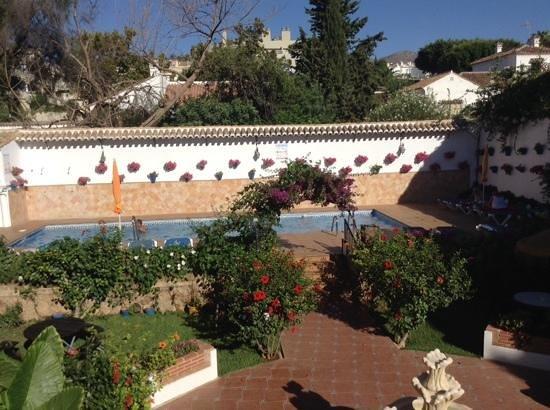 Hotel Carmen Teresa: Lovely pool area and gardens.