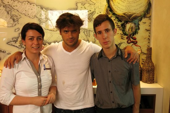 Stjepan Hauser @ Tezoro (2Cellos) - Picture of Trattoria