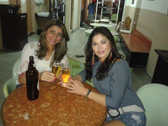 Samba Palace Hostel: Noite carioca