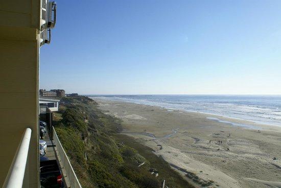Elizabeth Oceanfront Suites: View from room 118