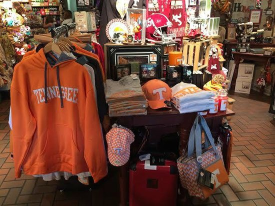 Cracker Barrel: Sports Ware  - Football Time in Tennessee!!!