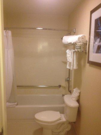 SpringHill Suites Pasadena Arcadia: Clean Bath & Shower