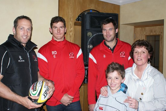 McBrides On The Square: Ulster Rugby Players Drop In