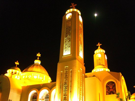 The Heavenly Cathedral : The cathedral at night