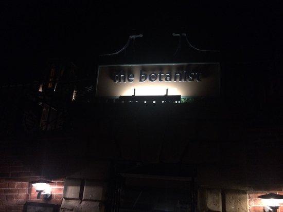 The Botanist Bristol: Entrance