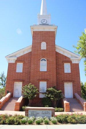 St. George Tabernacle: The Mormon Tabernacle in St. George, UT