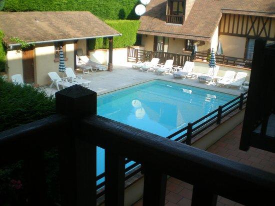 Hotel Romantica: vue de ma chambre
