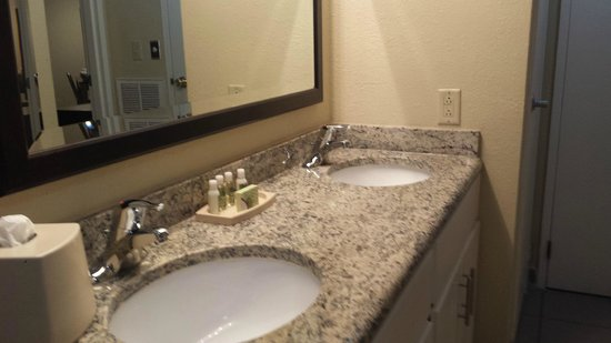 Royal Suites at  Atlantic Palace: Bathroom Double Sinks