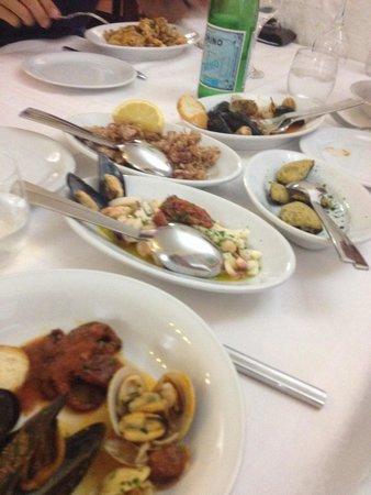 La Taverna trattoria : Antipasto misto di pesce ����