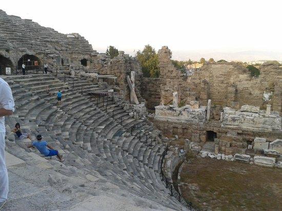 Greek Amphitheater: Side anfi tiyatro