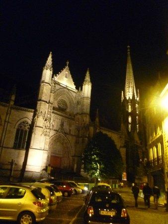 La Flèche Saint-Michel : Vista nocturna de La Fleche de St. Michel - Burdeos