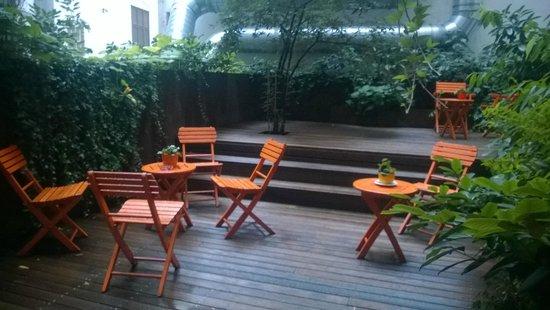 Hollmann Beletage: Garden/Patio