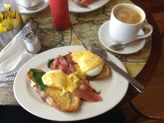 The Ross Bakery Inn: Eggs Benedict